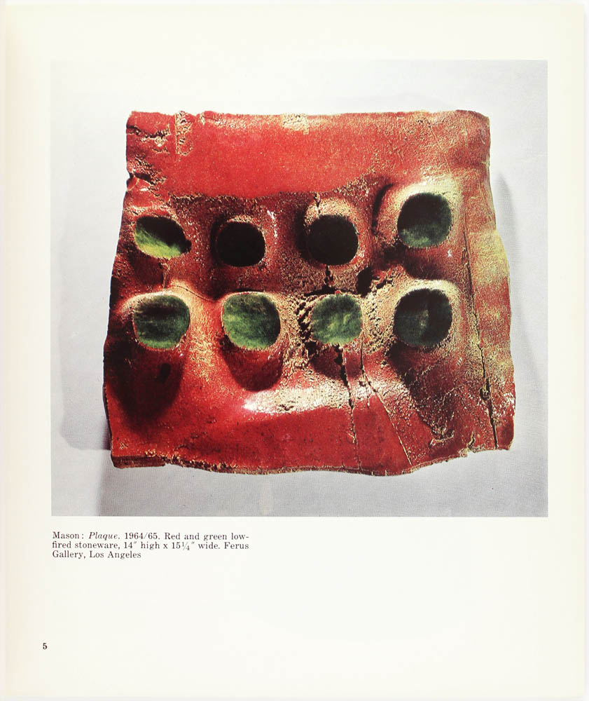 Abstract expressionist ceramics