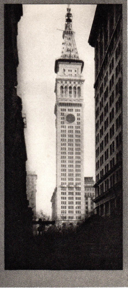 The Metropolitan Tower: Photogravure from Alvin Langdon Coburn's New York. Alvin Langdon Coburn.
