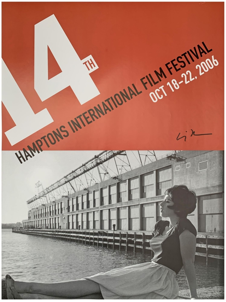 Poster for the 14th Hamptons International Film Festival, October 18-22, 2006 (Signed). Cindy Sherman.