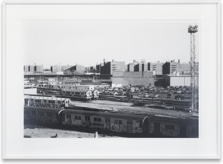 Untitled from the Series New York from the Yards. Peter Spaans.