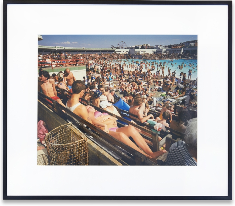 Untitled (from The Last Resort). Martin Parr.