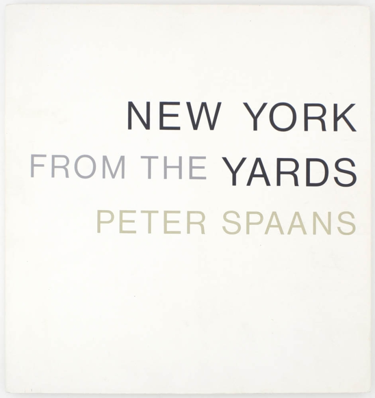 New York from the Yards (Signed Limited Edition). Peter Spaans.