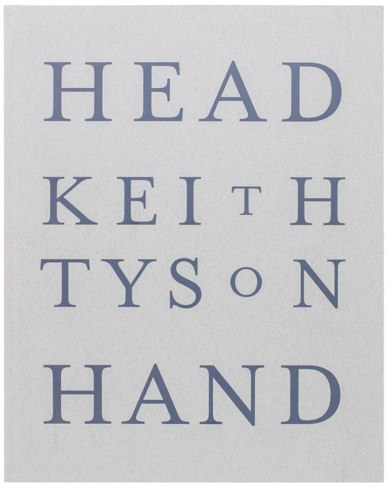 Head To Hand: Drawings by Keith Tyson (Signed First Edition). Keith Tyson.