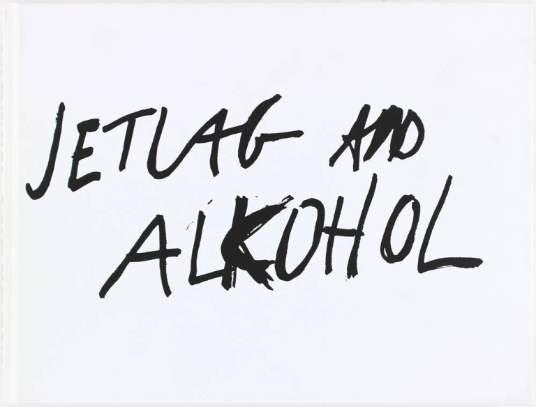 Jetlag and Alkohol (Signed First Edition). Morten Andersen.