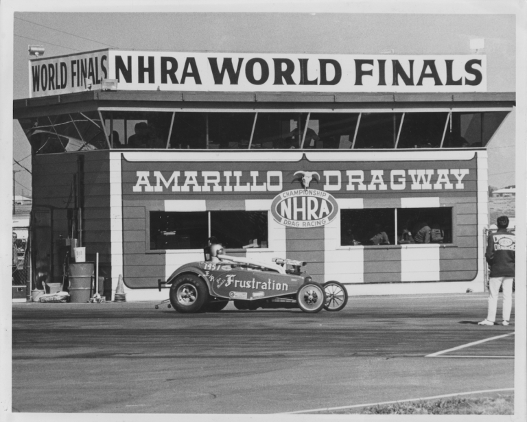 The Archive of a Champion Drag Racer. Jan Riedel.