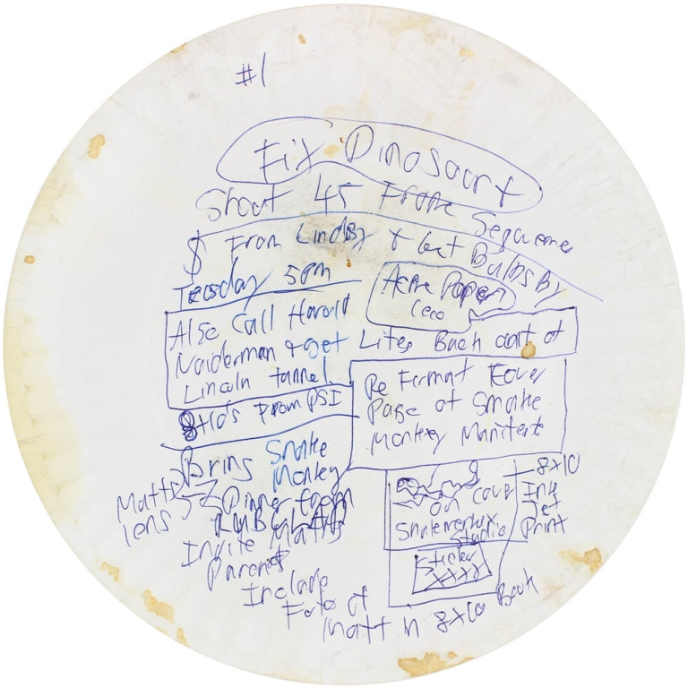 Archive of 25 Paper Plates. M. Henry Jones.