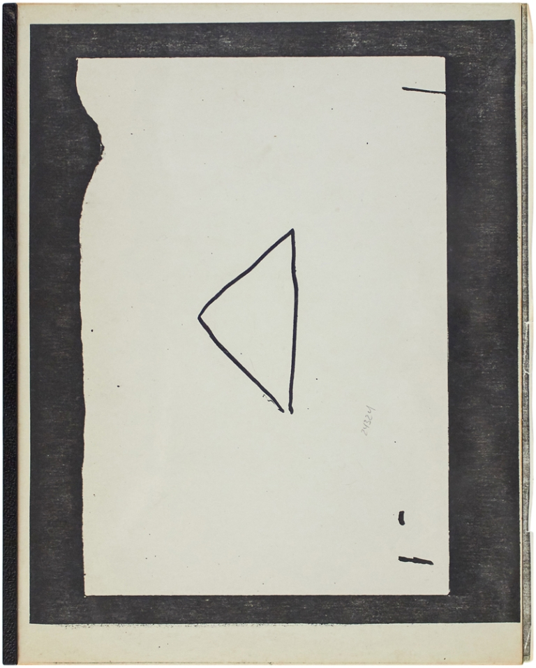 [Untitled Artists' Book]. Richard Morrison.