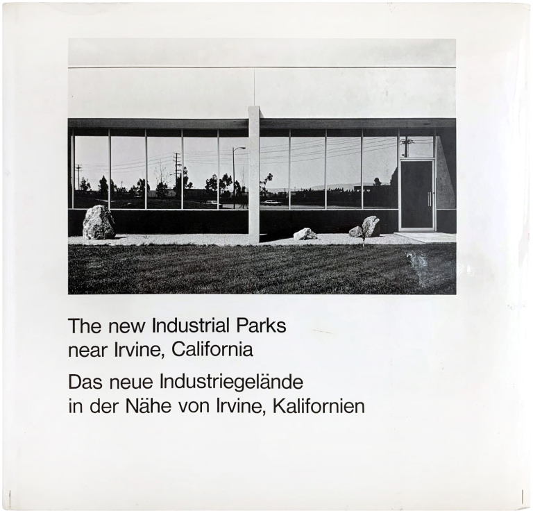 The New Industrial Parks Near Irvine, California. Lewis Baltz.