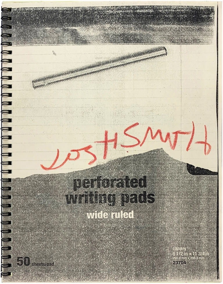 Untitled (Set Screw) [Limited Edition Artists' Book]. Josh Smith.