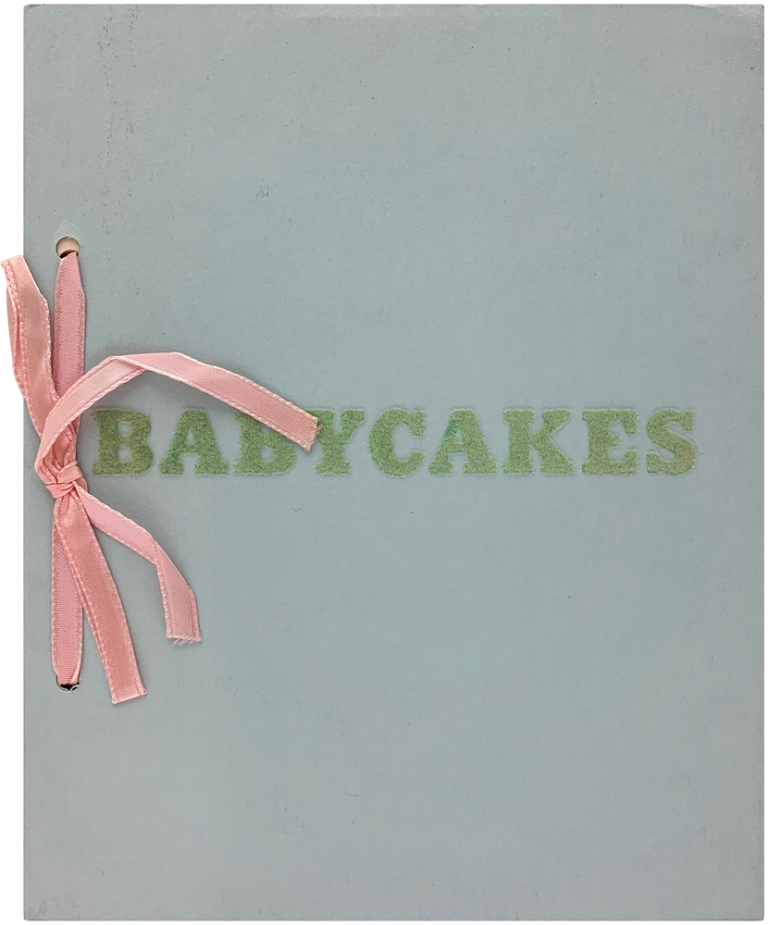 Babycakes With Weights. Edward Ruscha.
