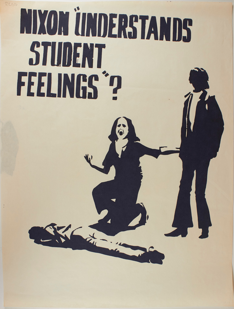 "Nixon ""Understands Student Feelings""? (poster). Anonymous."