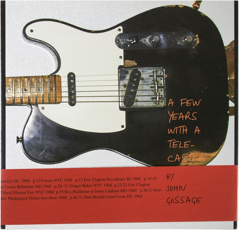 A Few Years With a Telecaster (Signed with Print). John Gossage.