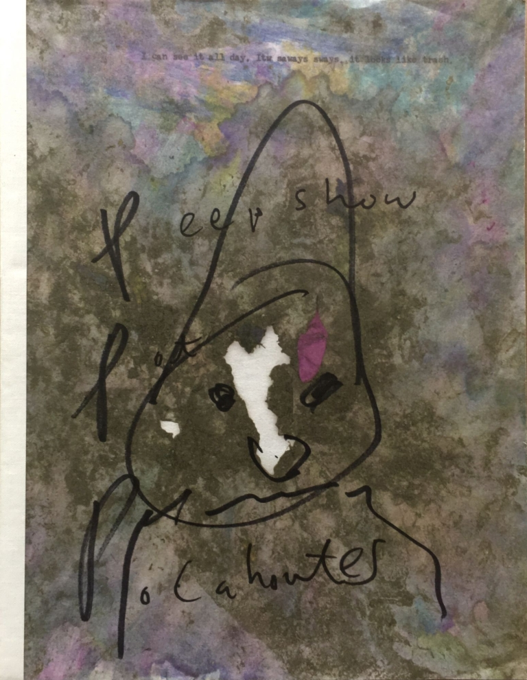 Train Yourself To Lose [Signed with original drawing]. Dan Colen, Harmony Korine.