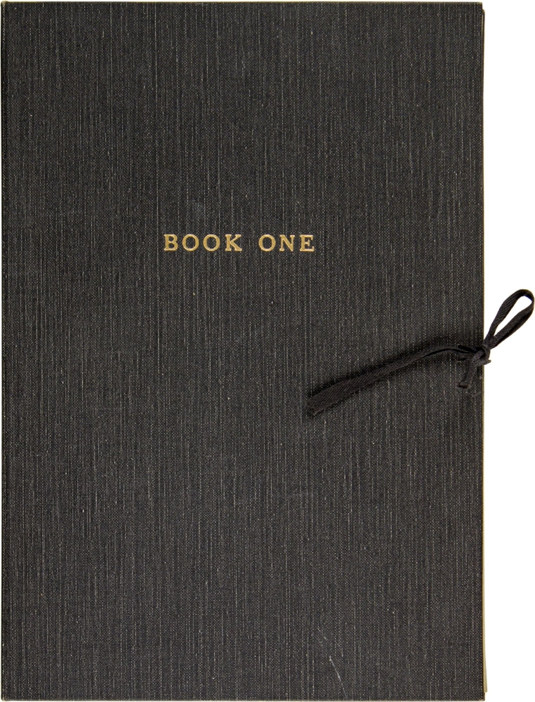 Book One (Complete Suite of 15 Signed Prints). Bruce Conner.