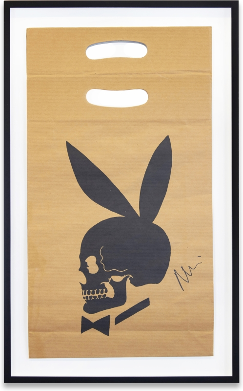 Learn to Read Art (Skull Bunny Bag). Richard Prince