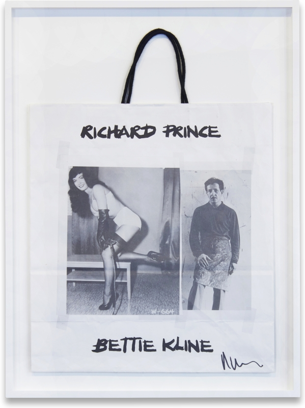 Bettie Kline Shopping Bag. Richard Prince