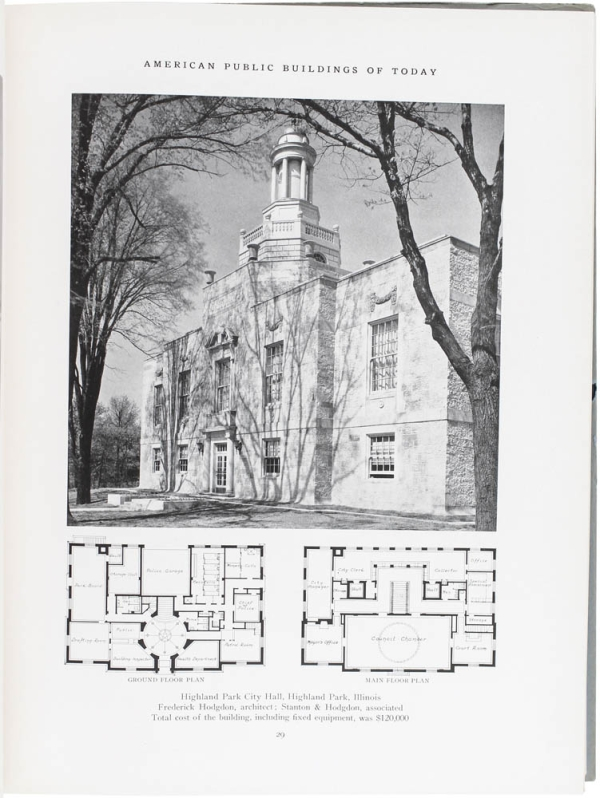 American Public Buildings of Today.