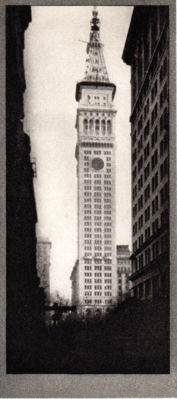 The Metropolitan Tower: Photogravure from Alvin Langdon Coburn's New York. Alvin Langdon Coburn