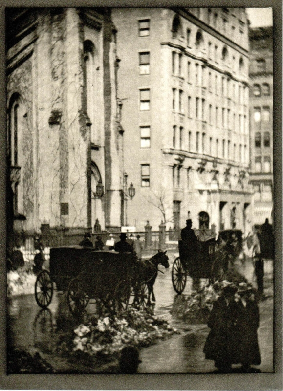 Holland House: Photogravure from Alvin Langdon Coburn's New York. Alvin Langdon Coburn