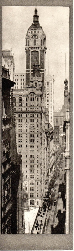 The Singer Building, Noon: Photogravure from Alvin Langdon Coburn's New York. Alvin Langdon Coburn
