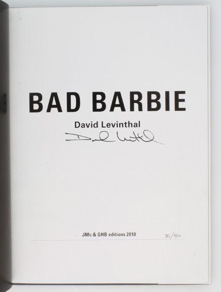 Bad Barbie (Signed Limited Edition).