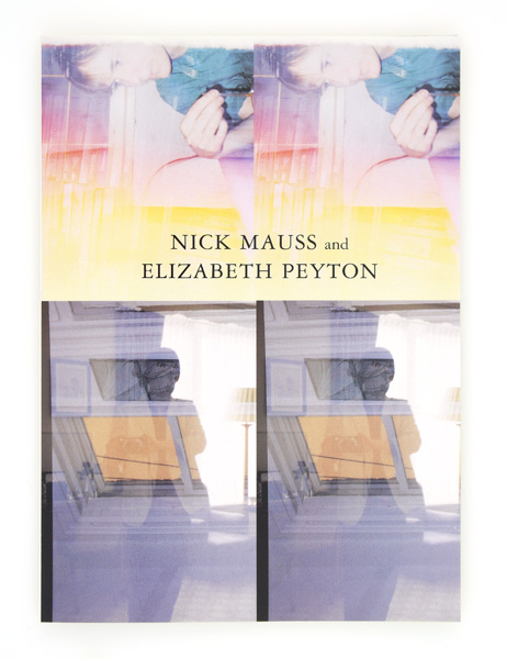 Nick Mauss and Elizabeth Peyton. Elizabeth Peyton, Nick Mauss.