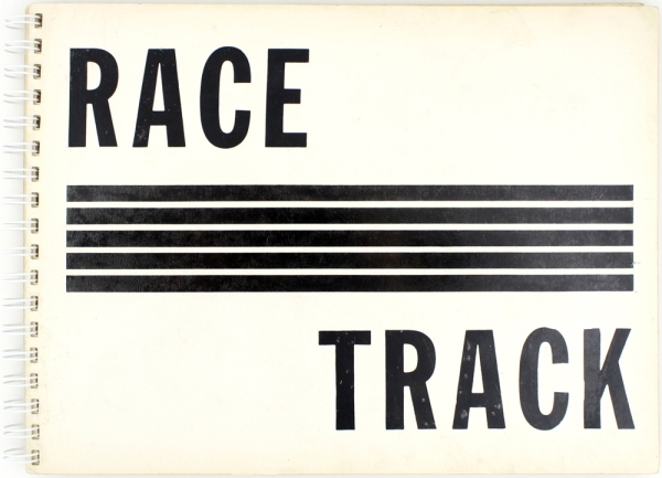 Race Track: A Photographic Impression. Frank Espada