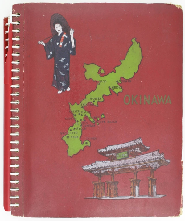 Okinawa Photo Album. Original Photographic Album