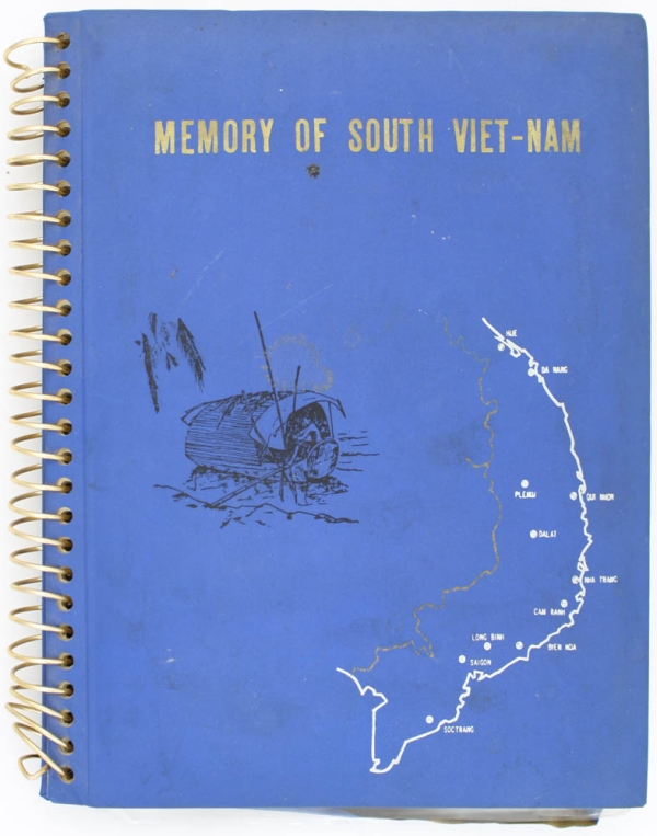 Memory of South Vietnam Photo Album. Original Photographic Album