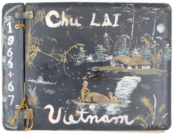 Chu Lai Vietnam Photo Album. Original Photographic Album