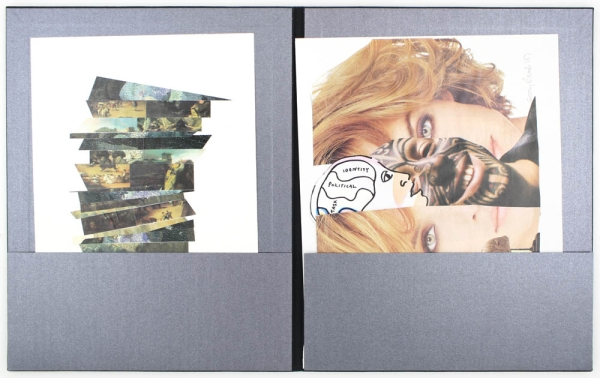 Claude Pélieu / Mary Beach 2001 (Signed Deluxe Edition with Collage).