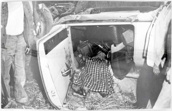 Untitled (Car Crash). Car Crash, Gordon Peters.