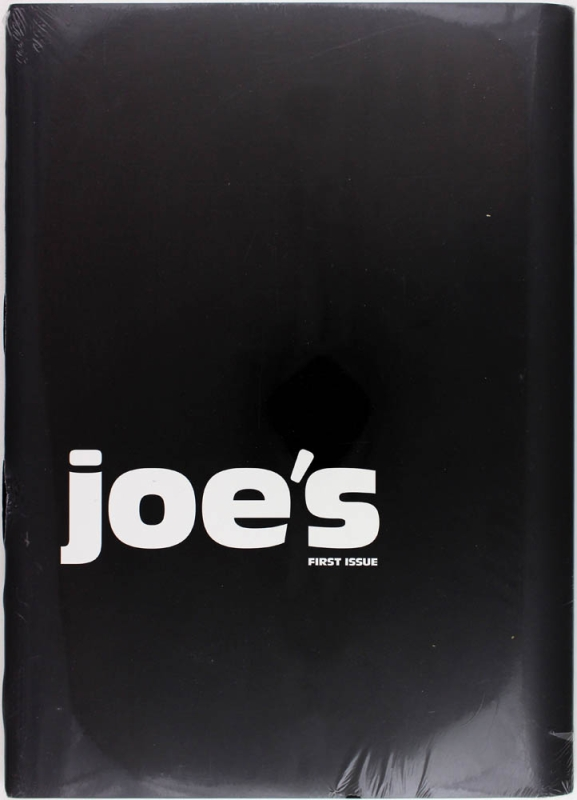 Joe's: First Issue and Second Issue.