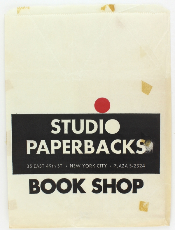 Collection of 90 Paper and Plastic Bags from New York City Bookshops.