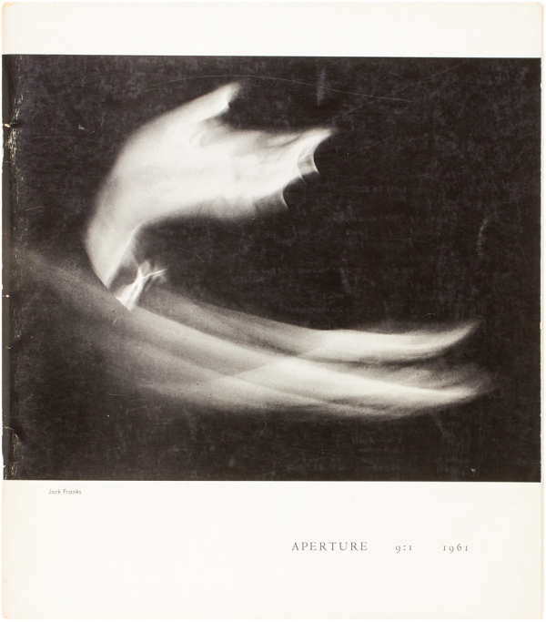 Aperture 9:1 [Robert Frank issue]. Robert. Minor White Frank