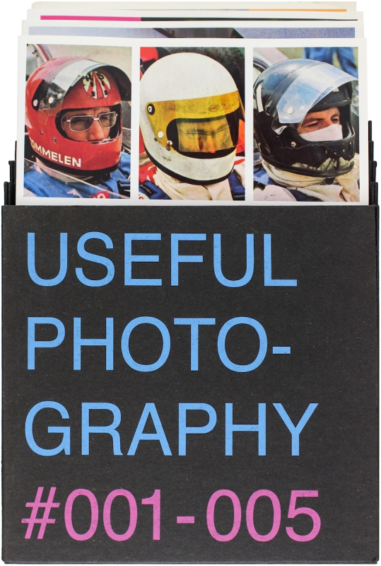 Useful Photography #001 - 005. Claude De Cleen Hans Aarsman, Hans Van der Meer, Erik Kessels, Julian Germain.