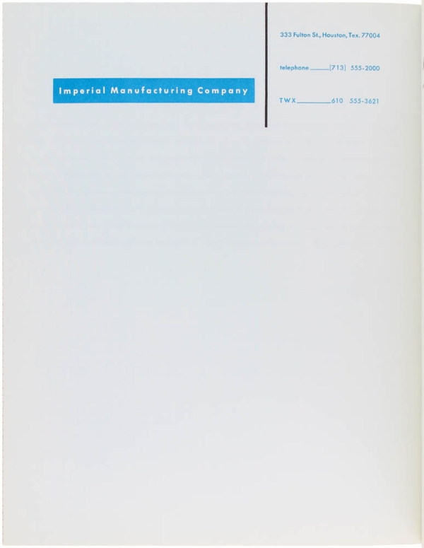 How to Show Telephone Numbers on Letterheads.