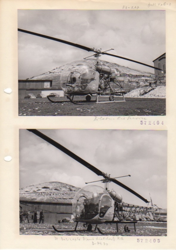 Archive of Helicopter Photographs.