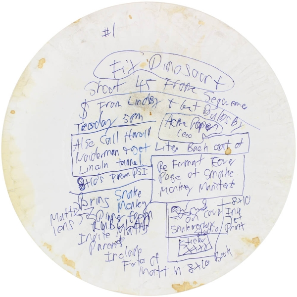 Archive of 25 Paper Plates. M. Henry Jones