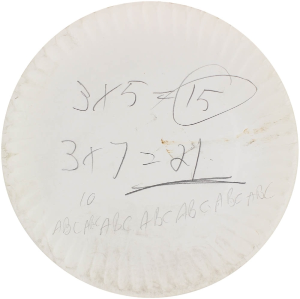 Archive of 25 Paper Plates.