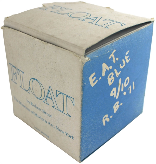 Float, E.A.T., Blue [Limited Edition 9/10]. Robert Breer