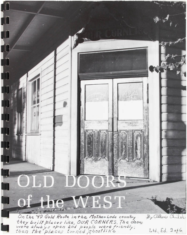 Old Doors of the West. Allen Chilole.