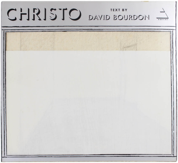 Christo (Signed Association Copy). Christo, David Bourdon.