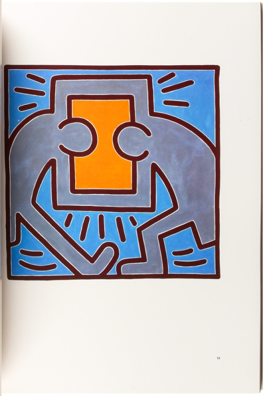 Keith Haring 1988: A One-Man Exhibition in Los Angeles of Paintings, Drawings, and Prints.