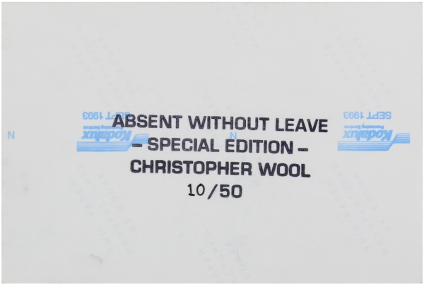 Absent Without Leave (Limited Edition with Print).