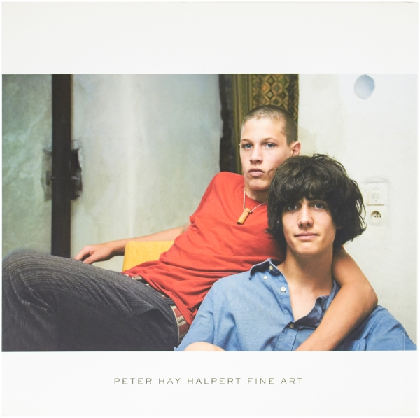 Tête-à-Tête: Intimate Portraits of Adolescent Sons 2005–2007 (Signed Limited Edition).
