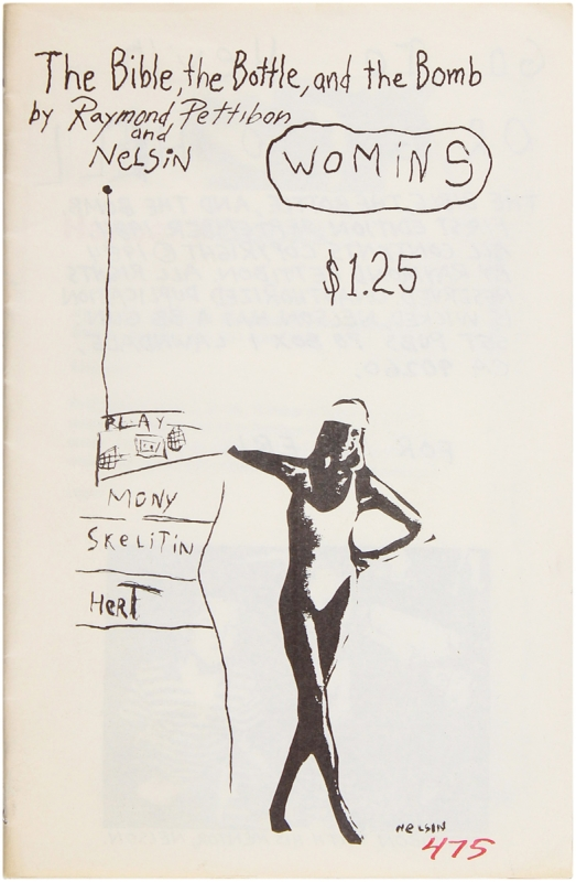 The Bible, the Bottle, and the Bomb. Raymond Pettibon