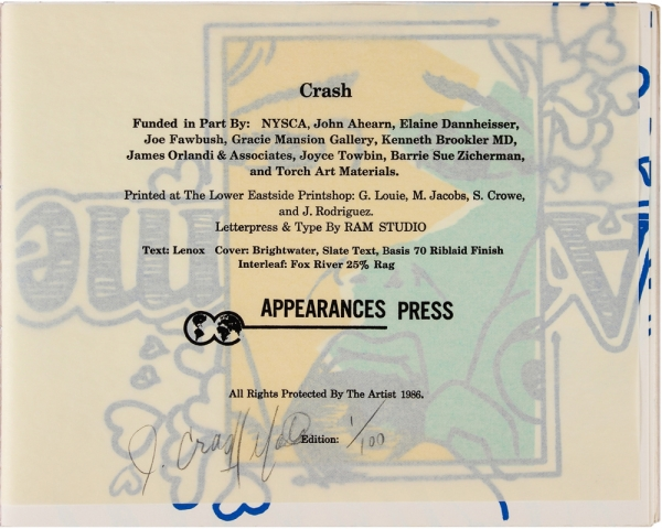 Crash! The Book! (Signed Limited Edition).