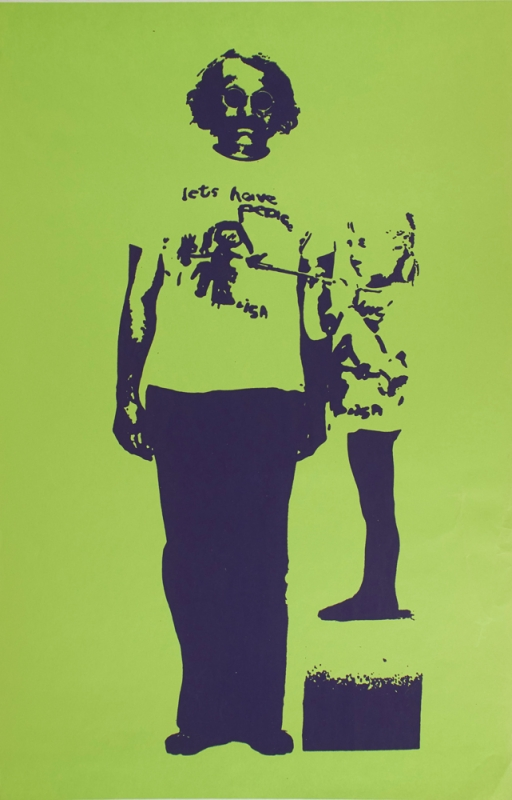 Lets Have Peace T-Shirt (poster). Anonymous, Lisa