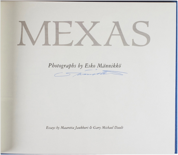 Mexas (Signed First Edition).